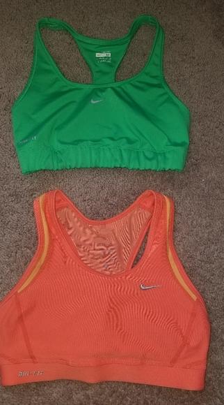 nike, old navy & champion Other - Bundle of 4 Nike, Old Navy & Champion sports Bras